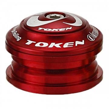 Token Kudos-Z A-Head Steuersatz 1 1/8 Semi-Integriert 44mm rot