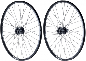 Exal DC19 Shimano Alivio 475 26 MTB Disc Wheelset black 6-Hole