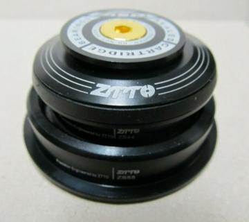 ZTTO 4456ST Steuersatz Semi-Integriert schwarz ZS56 ZS44