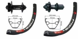 XLC Evo DT Swiss 466 MTB Disc 6-Loch Laufradsatz schwarz 26 QR-QR