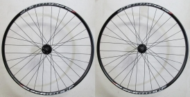XLC Evo Rodi Black Rock MTB Disc 6-Hole Wheelset black 26 15x100-12x142
