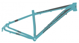 Force Virtus MTB Rahmen 26 blau V-Brake