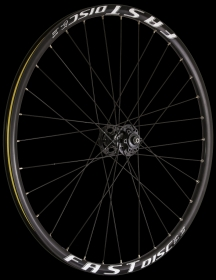 Remerx Fast Disc RX AL Disc Heavy MTB Wheelset Disc 6L black 27,5