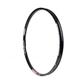 Shimano DH-UR700 Nabendynamo Acera NoTubes ZTR Flow MK3 Disc Laufradsatz schwarz MTB 27,5 QR-QR