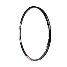 Shimano DH-UR700 Nabendynamo Acera NoTubes ZTR Crest MK3 Disc Laufradsatz schwarz MTB 27,5 QR-QR
