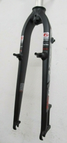 Mosso M5EV 420mm Alu Starrgabel schwarz-weiss-rot Disc V-Brake 26 1 1/8