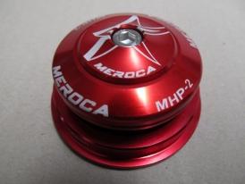 Meroca MHP-2 Alu A-Head Steuersatz Tapered rot ZS56/40 ZS44/28.6