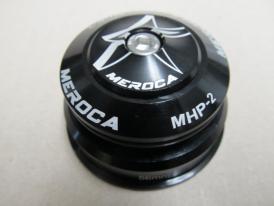 Meroca MHP-2 Alu A-Head Steuersatz Tapered schwarz ZS56/40 ZS44/28.6