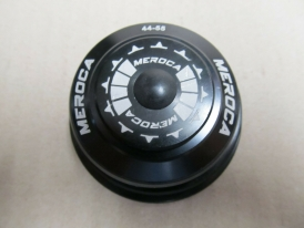 Meroca 44-55 Alu A-Head Steuersatz Tapered schwarz ZS55/40 ZS44/28.6