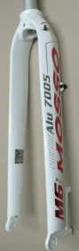 Mosso M6i 435mm Alu Starrgabel weiss-rot Disc Only 26 1 1/8